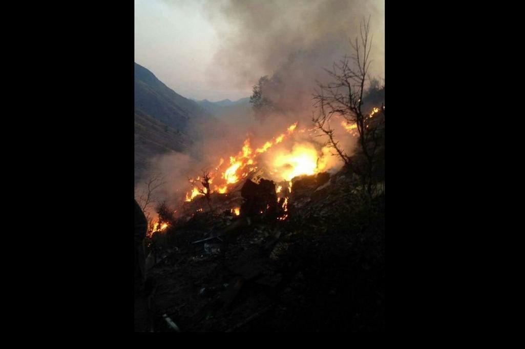 Havárie pákistánského letadla