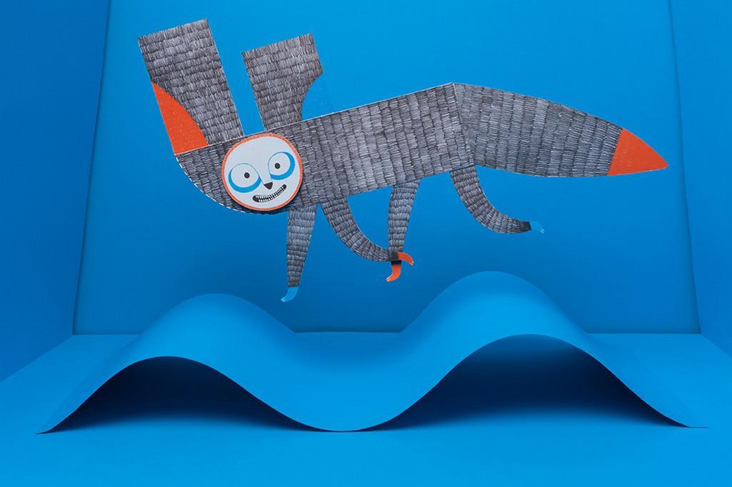 Motoricky zaměřená publikace pro děti Alfabeta od ilustrátora Patrika Antczaka
