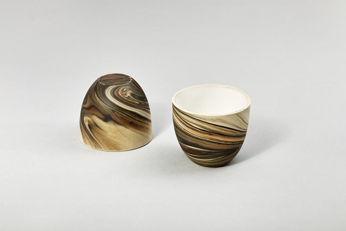 Výrobky porcelánového studia Bisquit