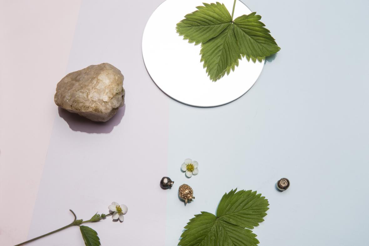 Šperky Scandinavian forest inspirované lesními plody od designérky Nastassie Aleinikavy