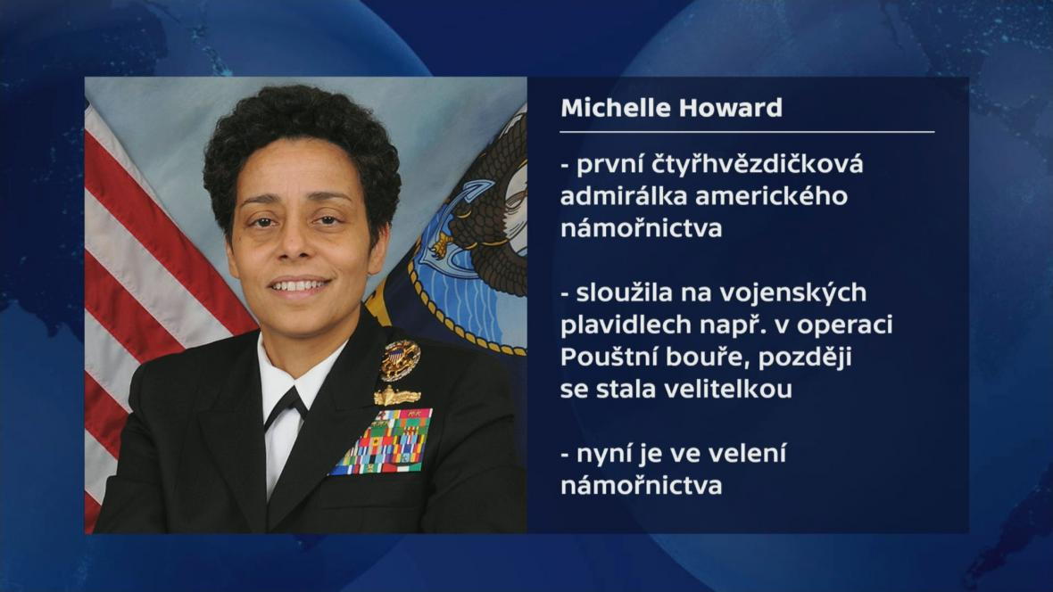 Vizitka Michelle Howardové
