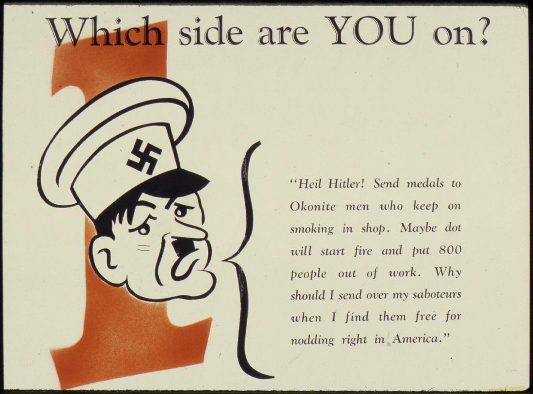 Hitler se stal paradoxně i zbraní americké propagandy proti kouření
