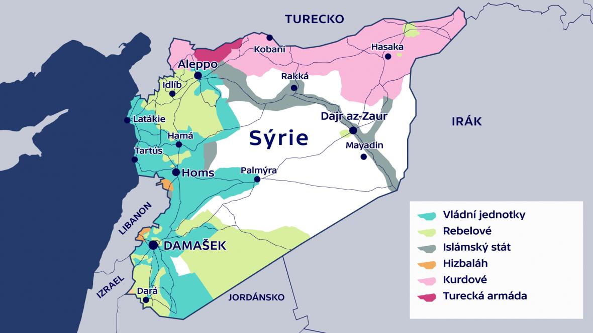 Situace v Sýrii ke 14. prosinci 2016