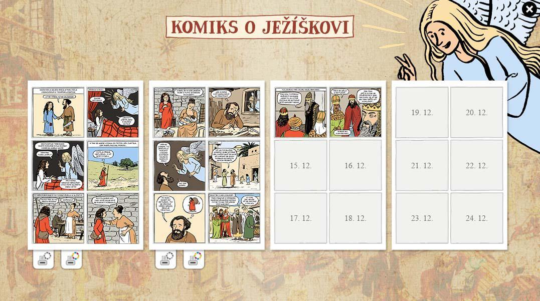 Komiks o Ježíškovi