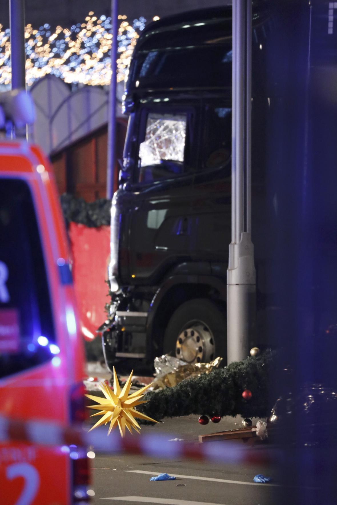 Incident na vánočním trhu v Berlíně