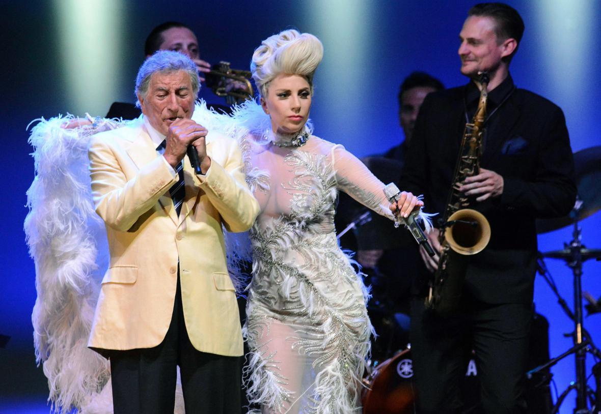 Tony Bennett a Lady Gaga