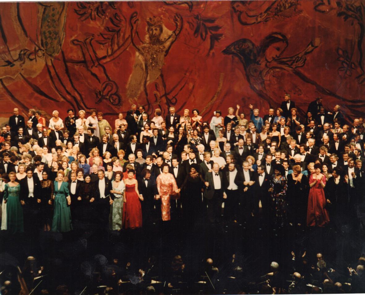 Koncert ke sto letům Metropolitní opery