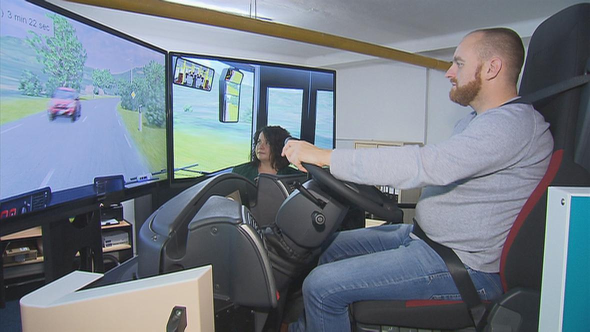 Autobusový simulátor