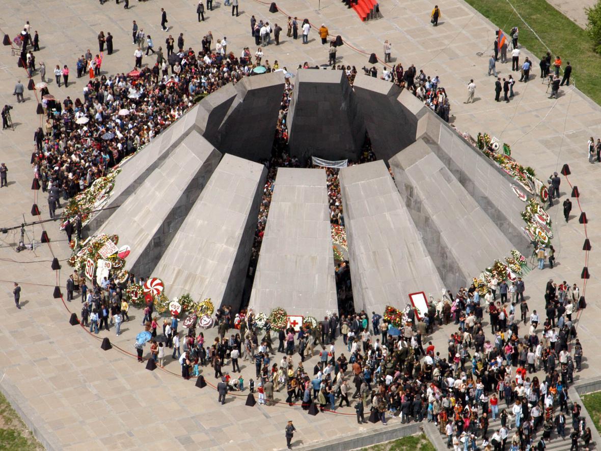 Památník genocidy Arménů v Jerevanu
