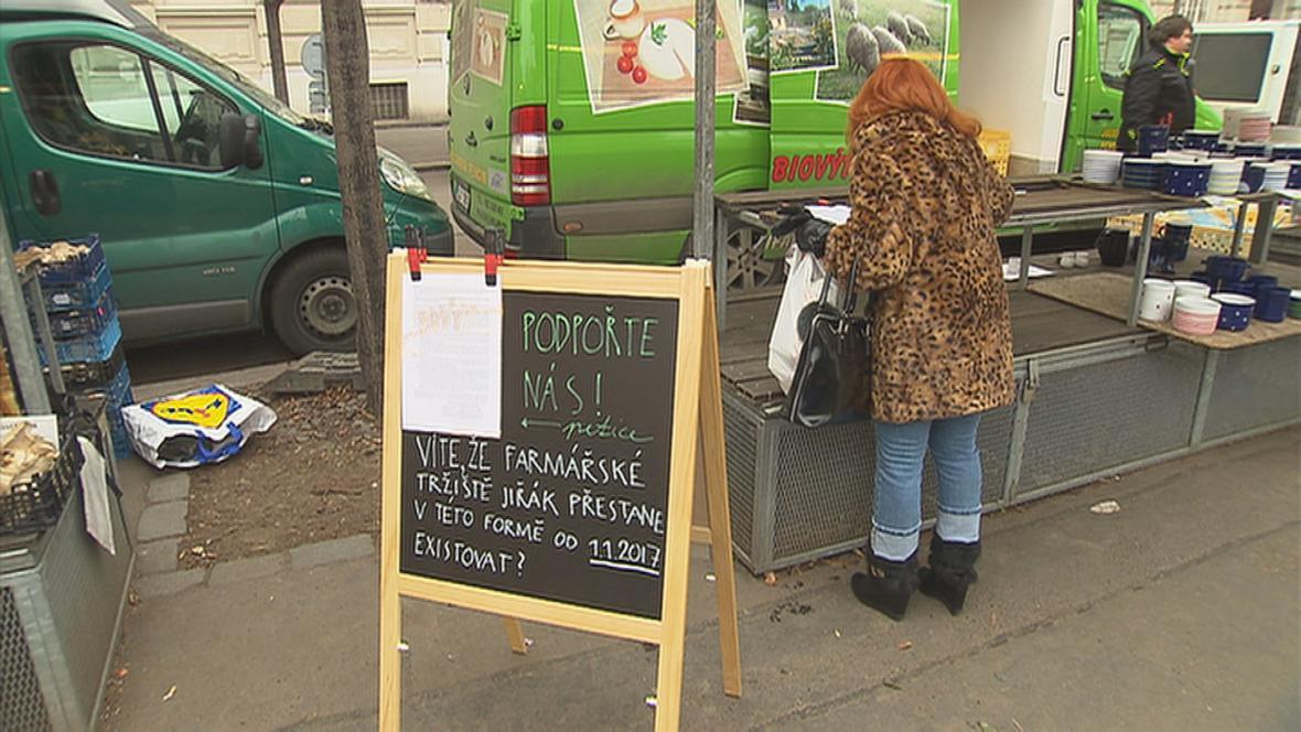 Petice proti změně provozovatele farmářských trhů na Jiřáku