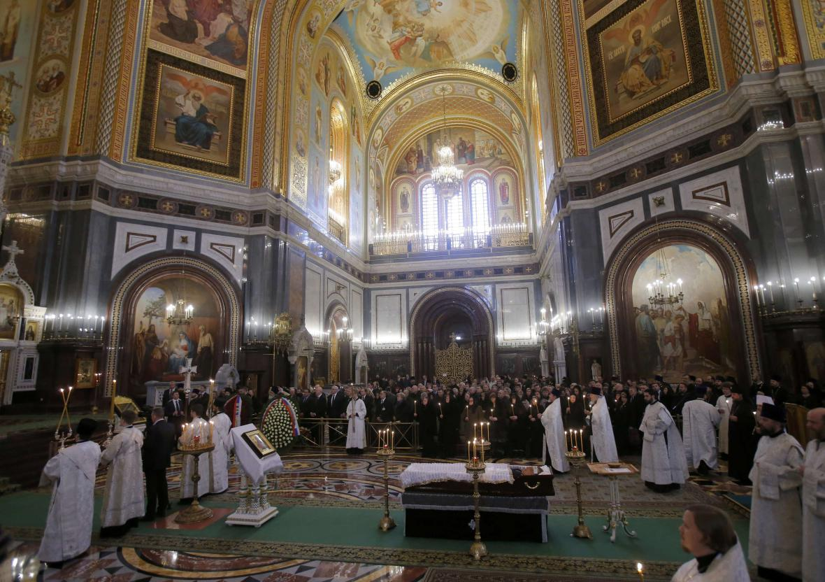 Pohřeb Andreje Karlova