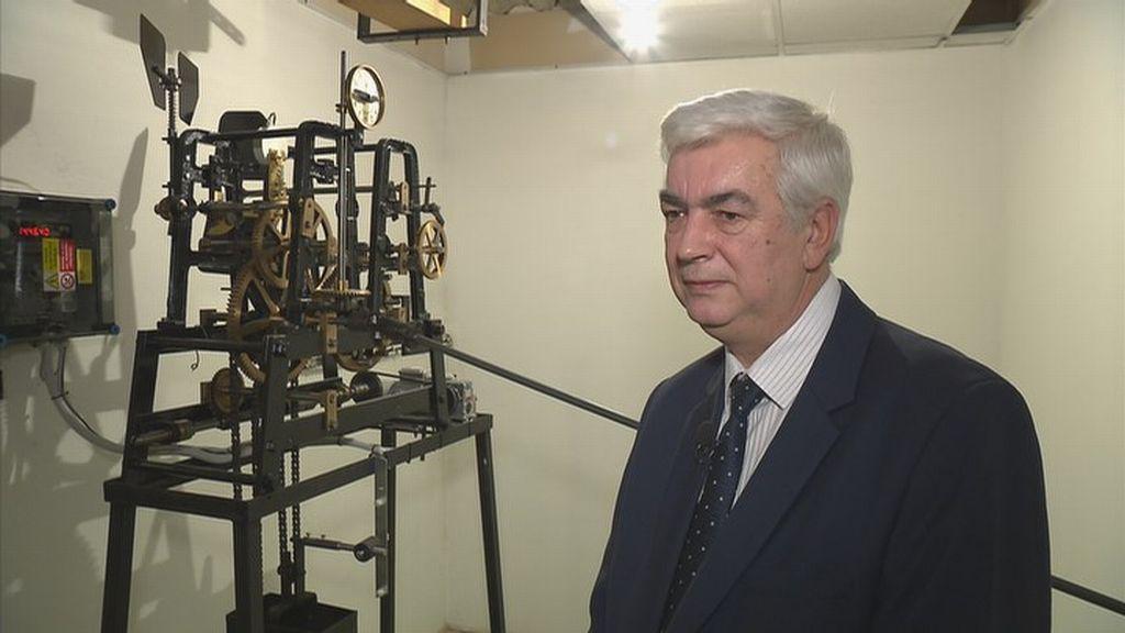 Hodiny na ubytovně Kupa - ředitel bytové správy ministerstva vnitra Miroslav Boháč