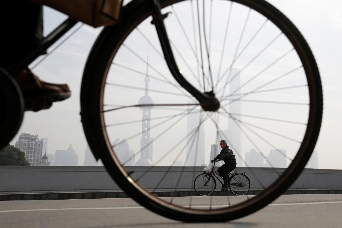 Půjčování kol v Číně