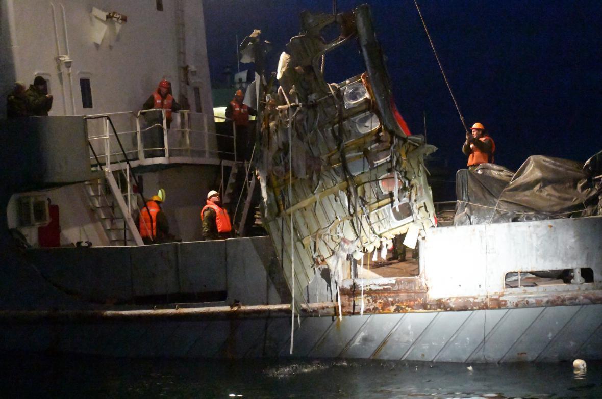 Pátrací akce v Černém moři