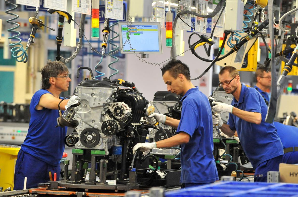Provoz Hyundai Mobis v průmyslové zóně  v Nošovicích