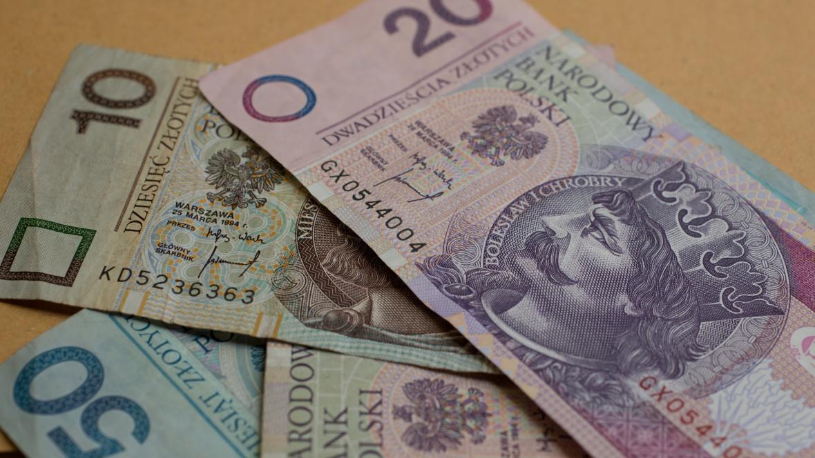 Bankovky polské měny
