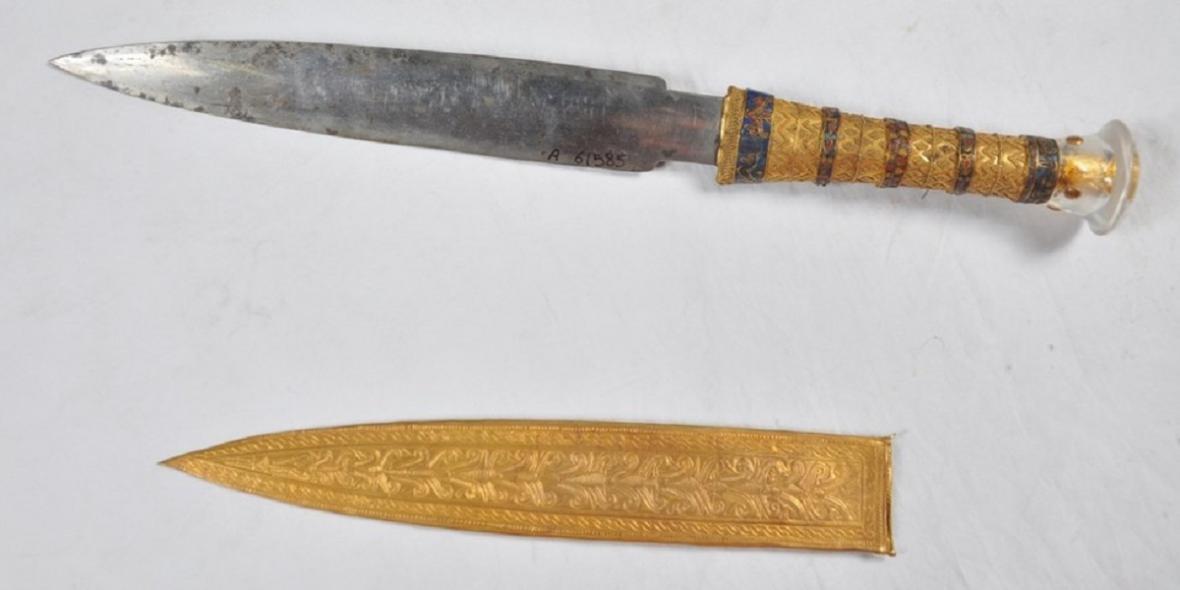 Nůž Tutanchamona