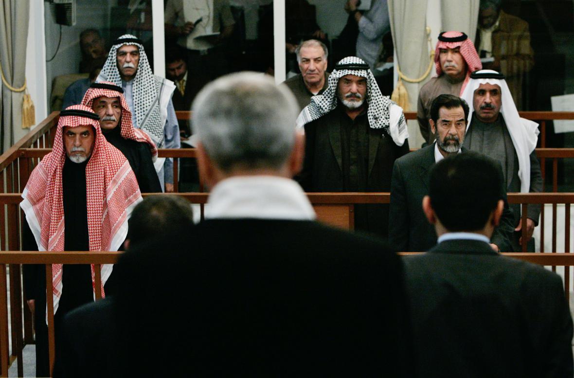 Rozsudek nad Saddámem Husajnem