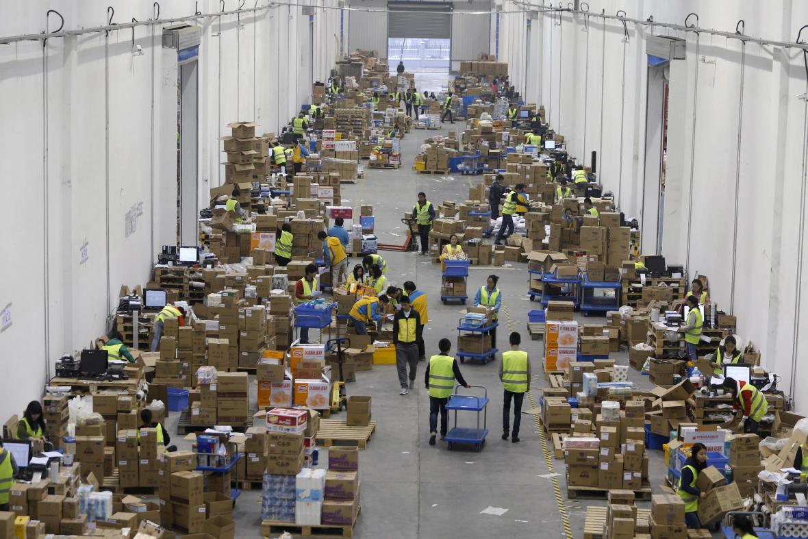Logistické centrum ve Wuhanu