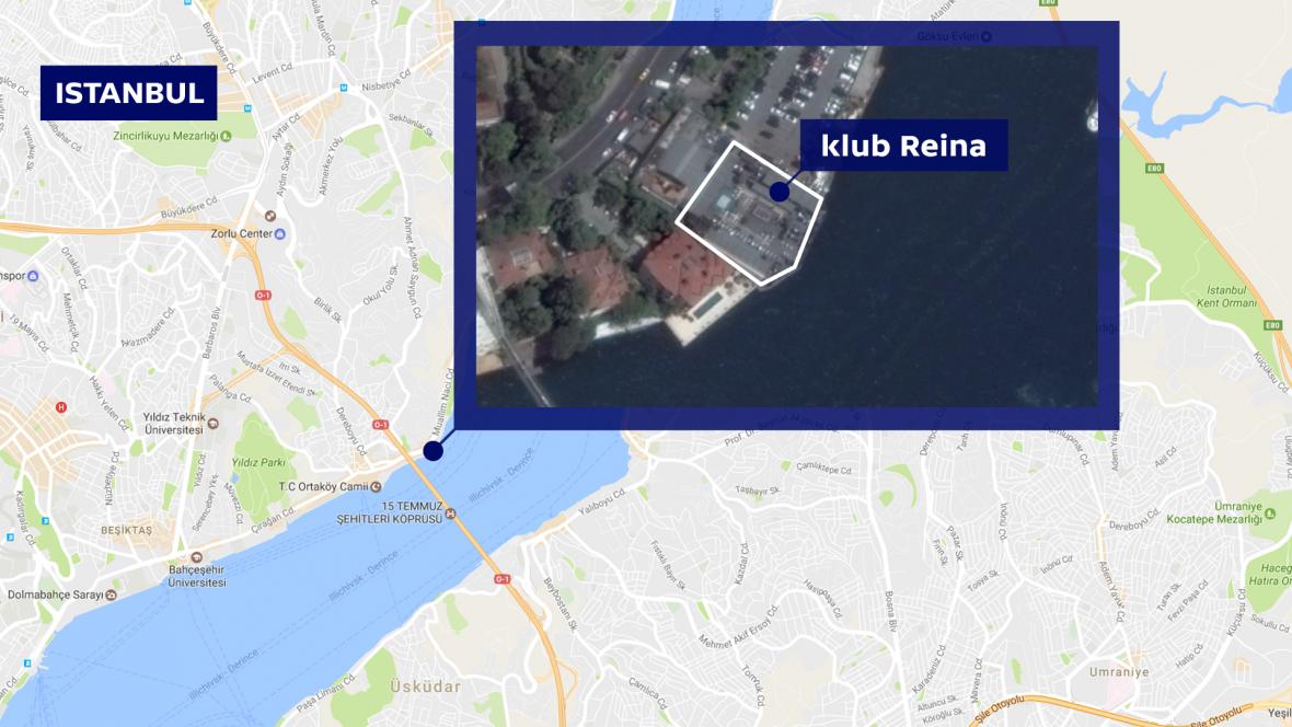 Klub Reina v Istanbulu