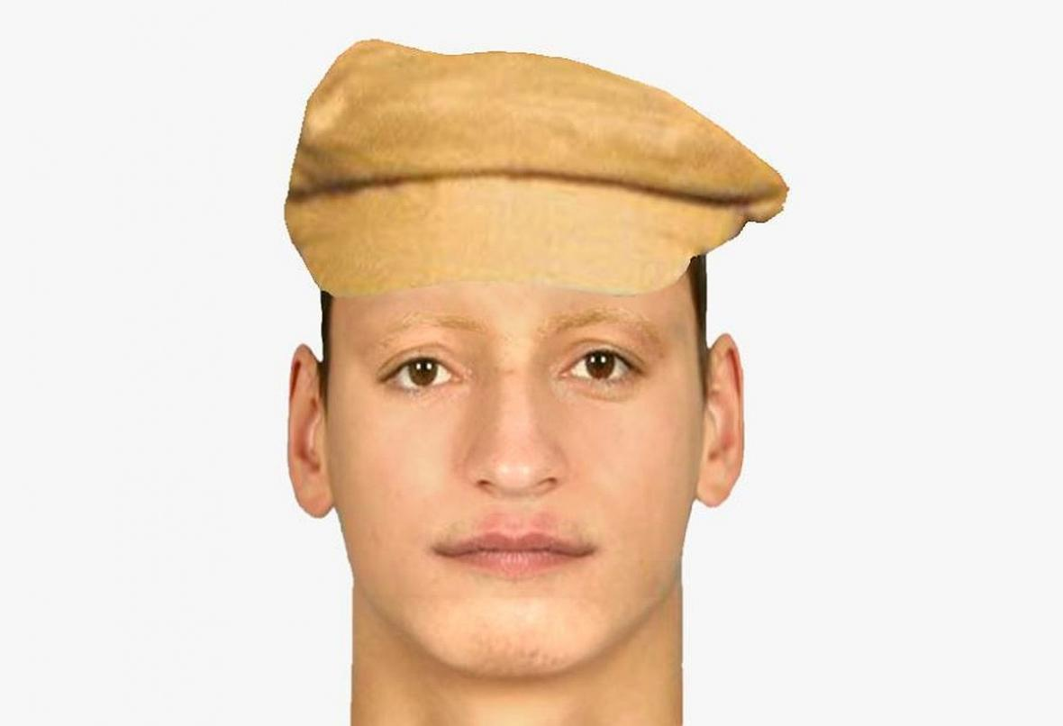 Podobizna muže, který přepadl tenistku Kvitovou