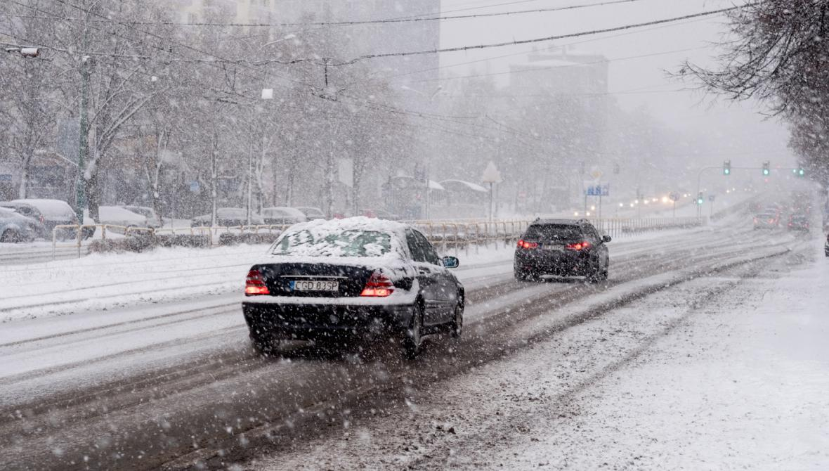 Polsko se potýká s přívaly sněhu