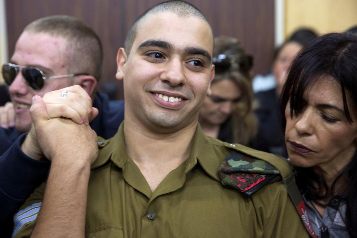 Izraelský voják Elor Azaria