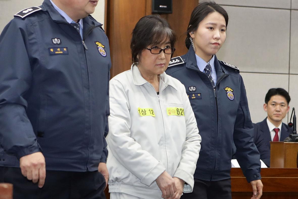 Čche Son-sil u soudu