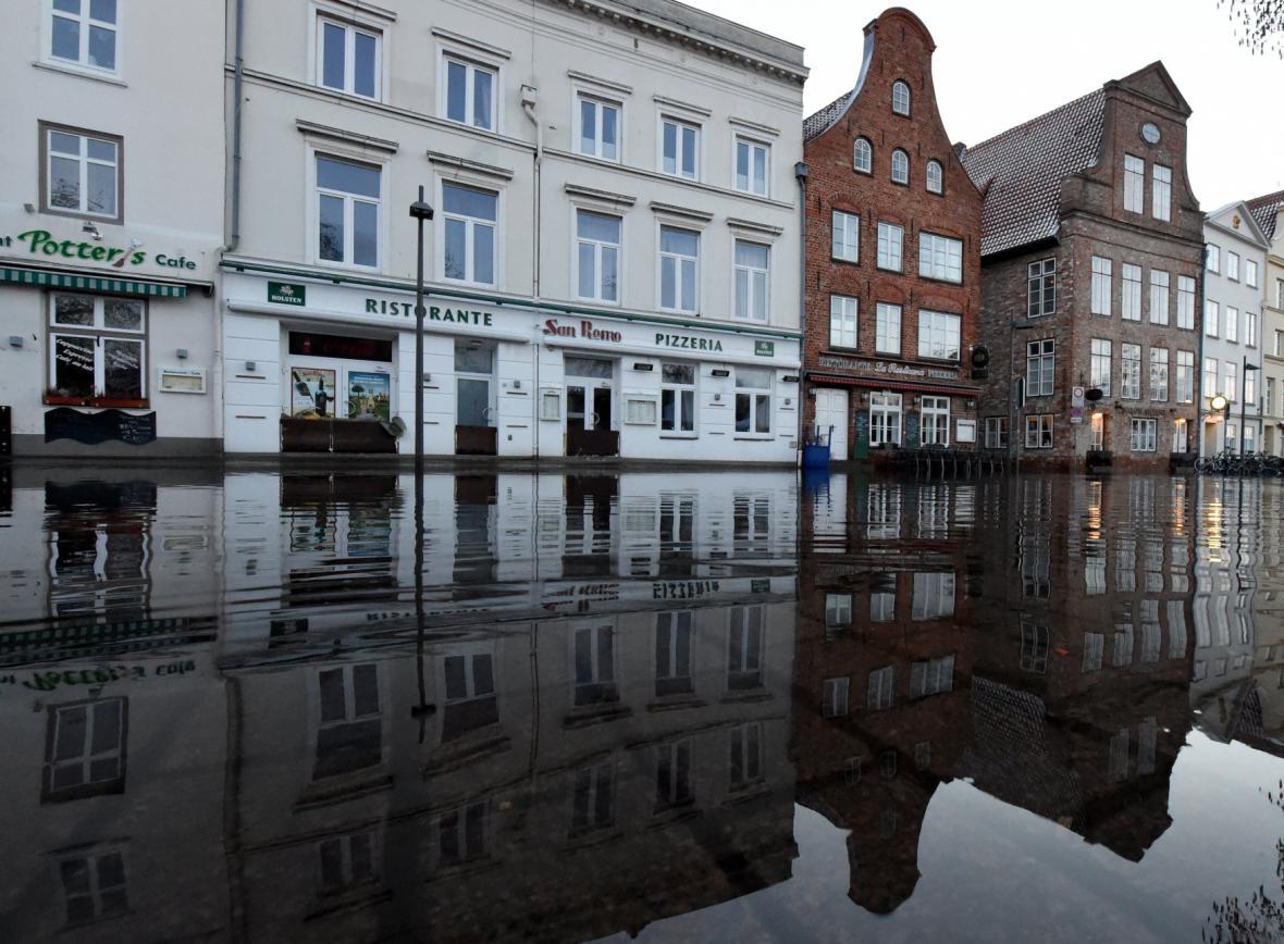 Záplavy v Lübecku