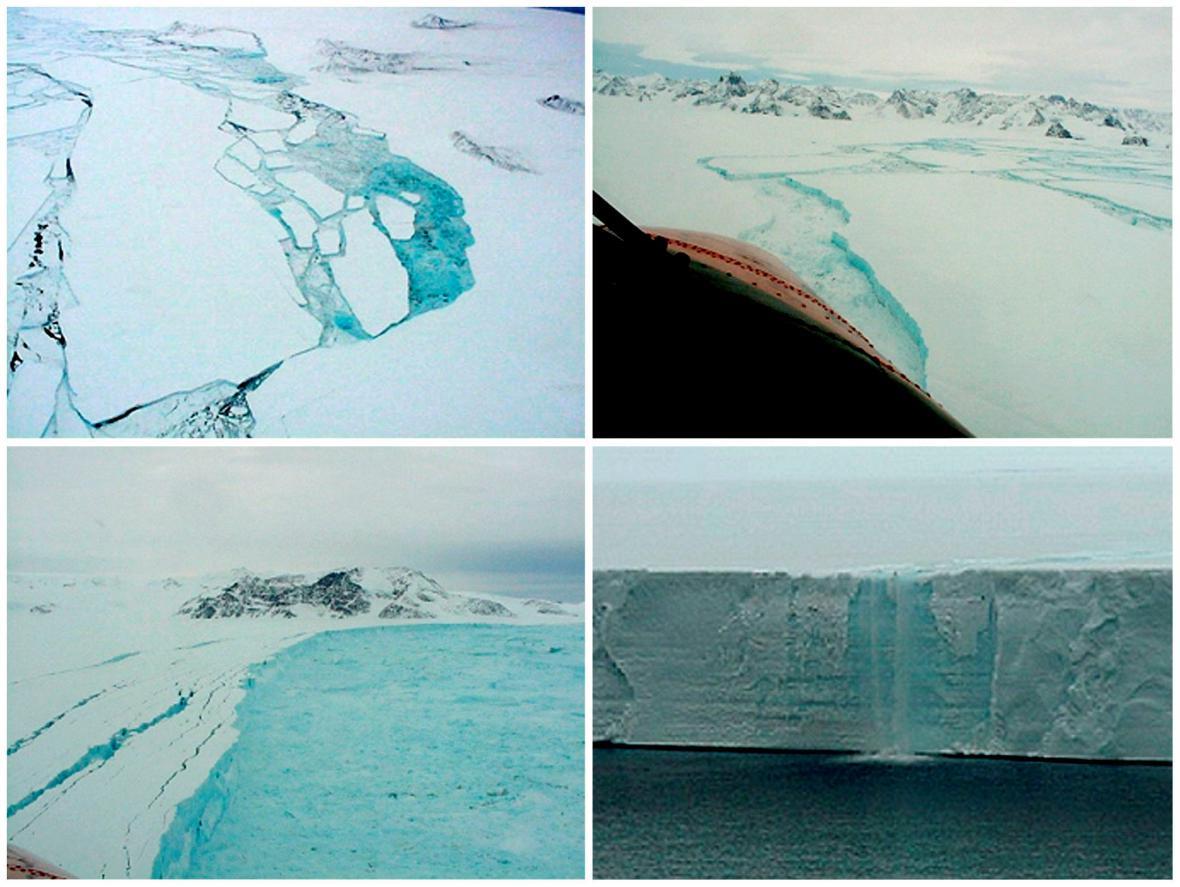 Ledovcový šelf Larsen B