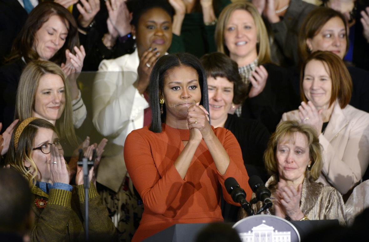 Poslední projev Michelle Obamové