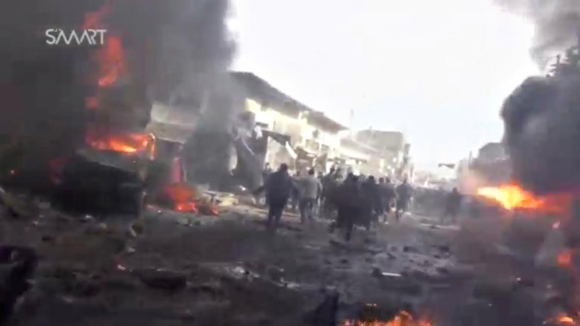 Exploze v Azazu