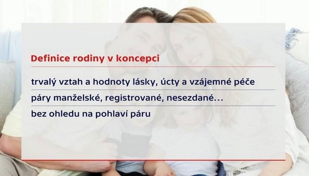 Definice rodiny