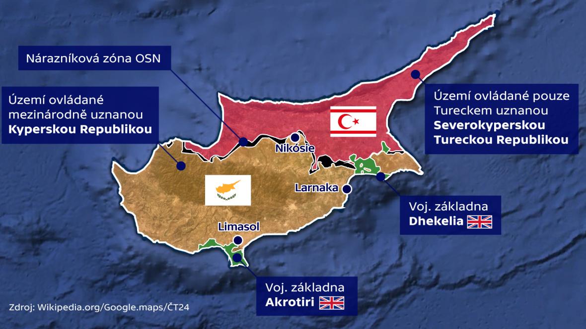 Rozdělení Kypru