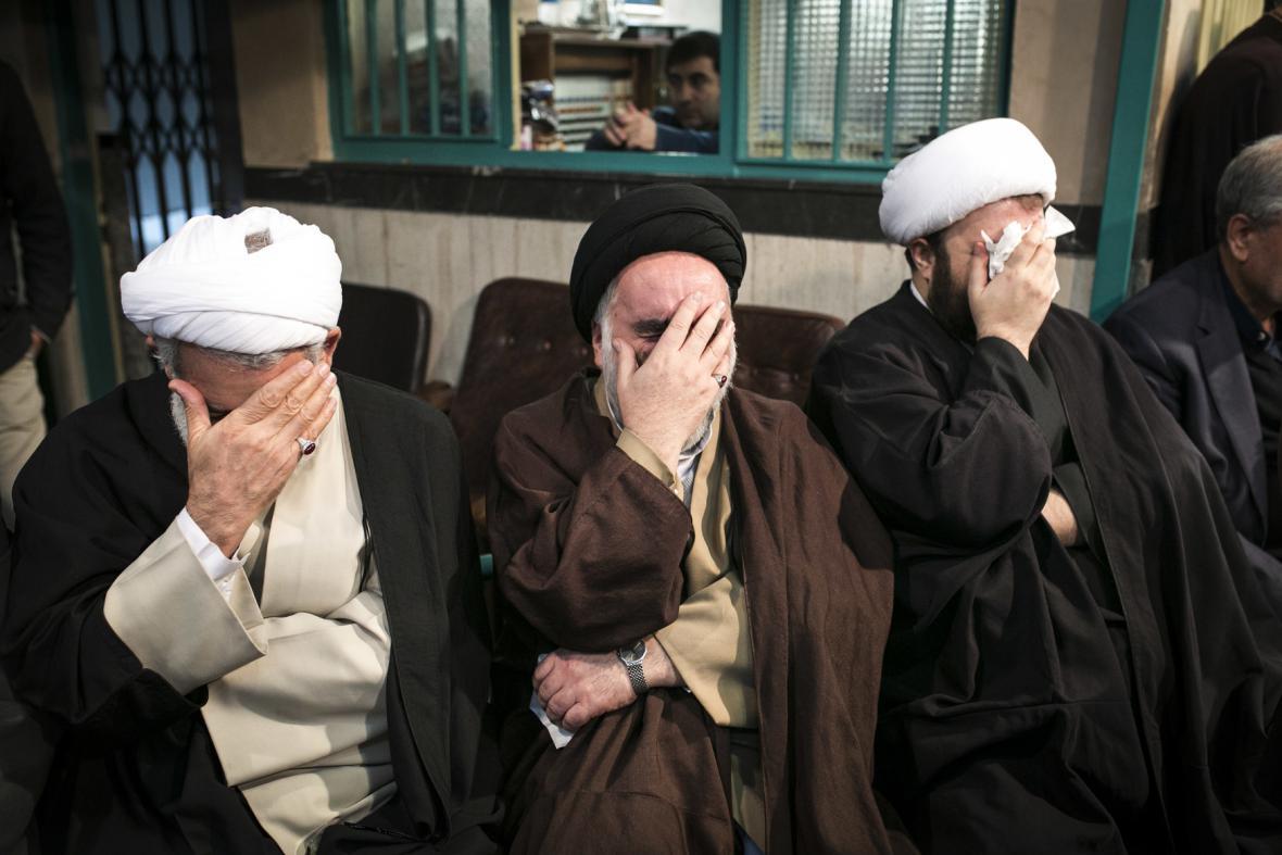 Íránci oplakávají smrt Rafsandžáního