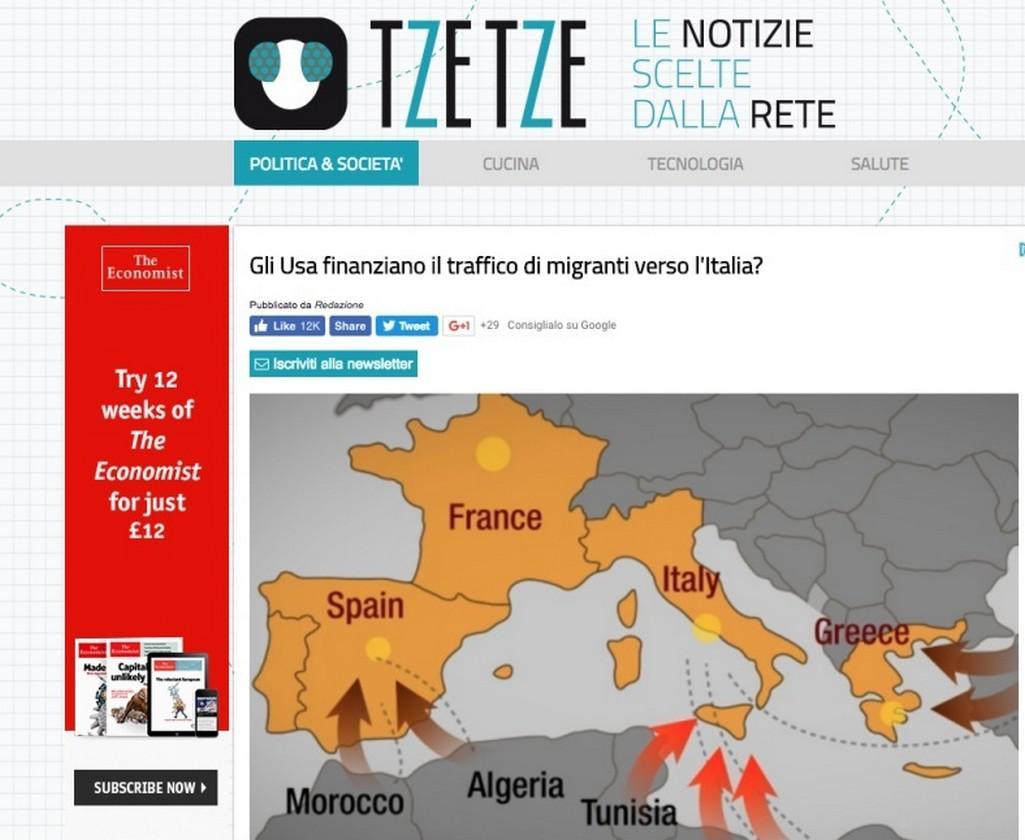 Webové stránky TzeTze
