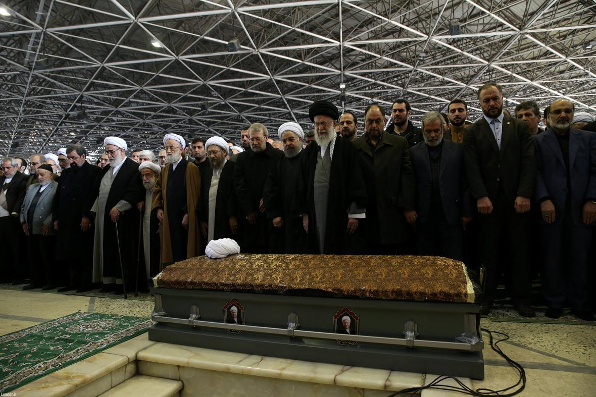Pohřeb Rafsandžáního