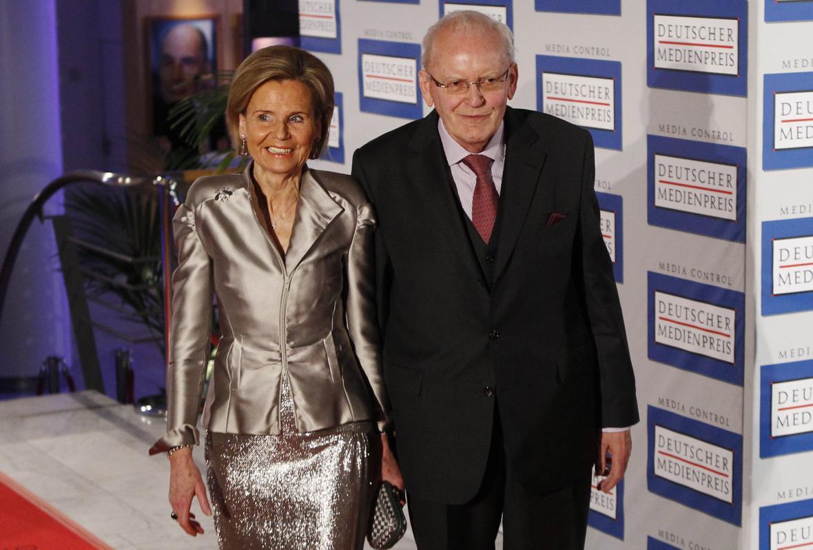 Roman Herzog se svou manželkou