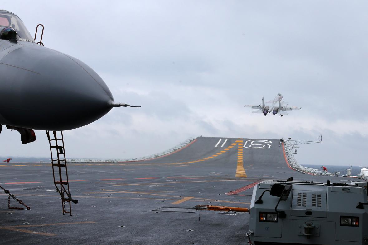 Letadlová loď Liaoning