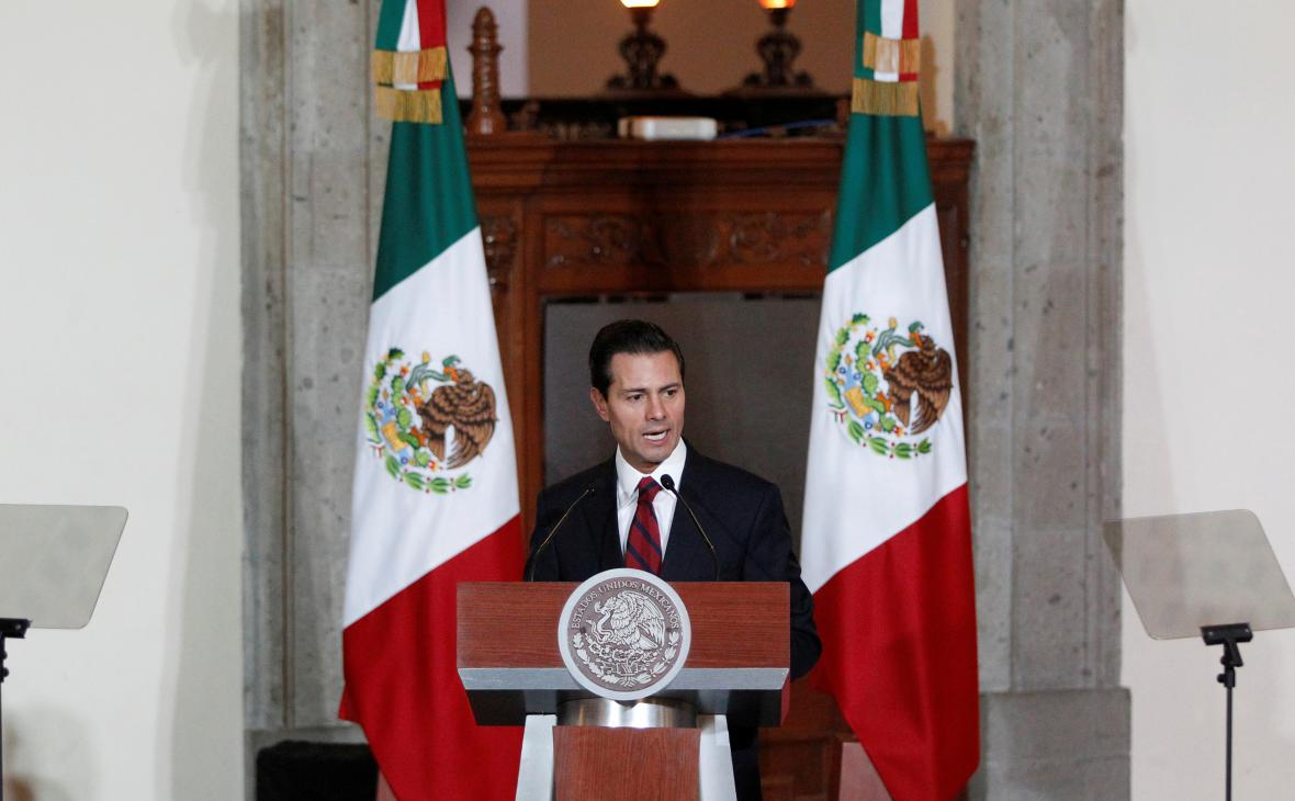 Prezident Mexika Nieto reaguje na slova Trumpa