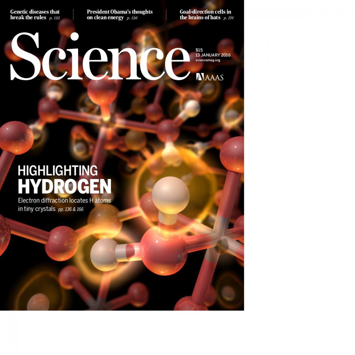 Obálka časopisu Science