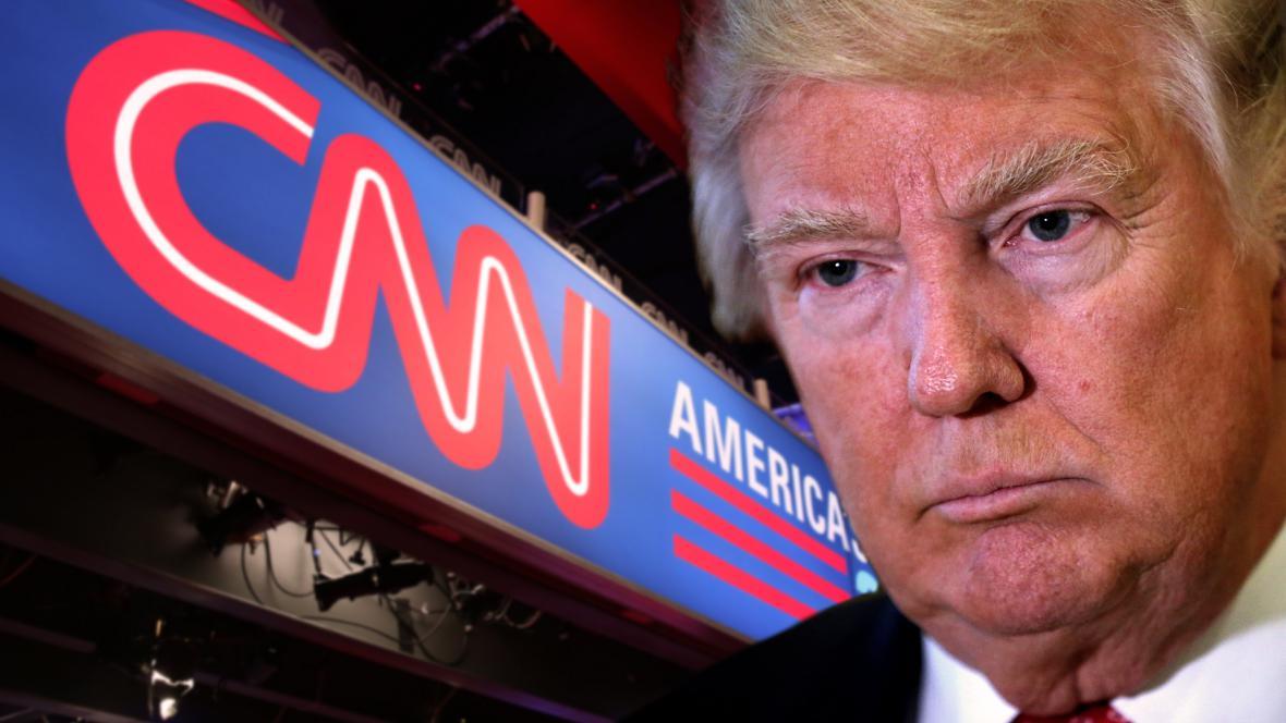 Donald Trump a CNN