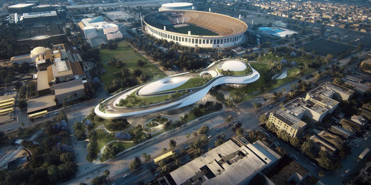 Návrh muzea George Lucase