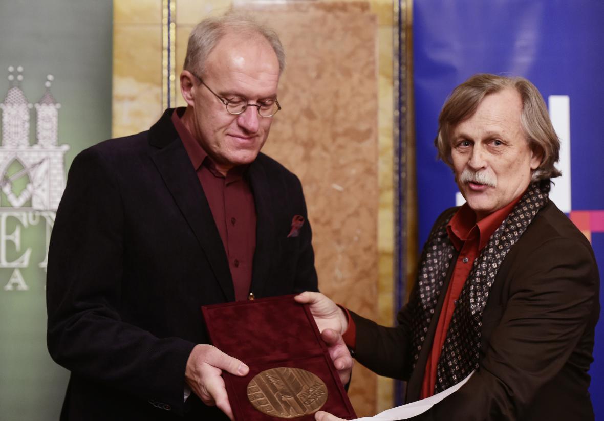 Petr Kotyk (vlevo) a Jiří Dědeček