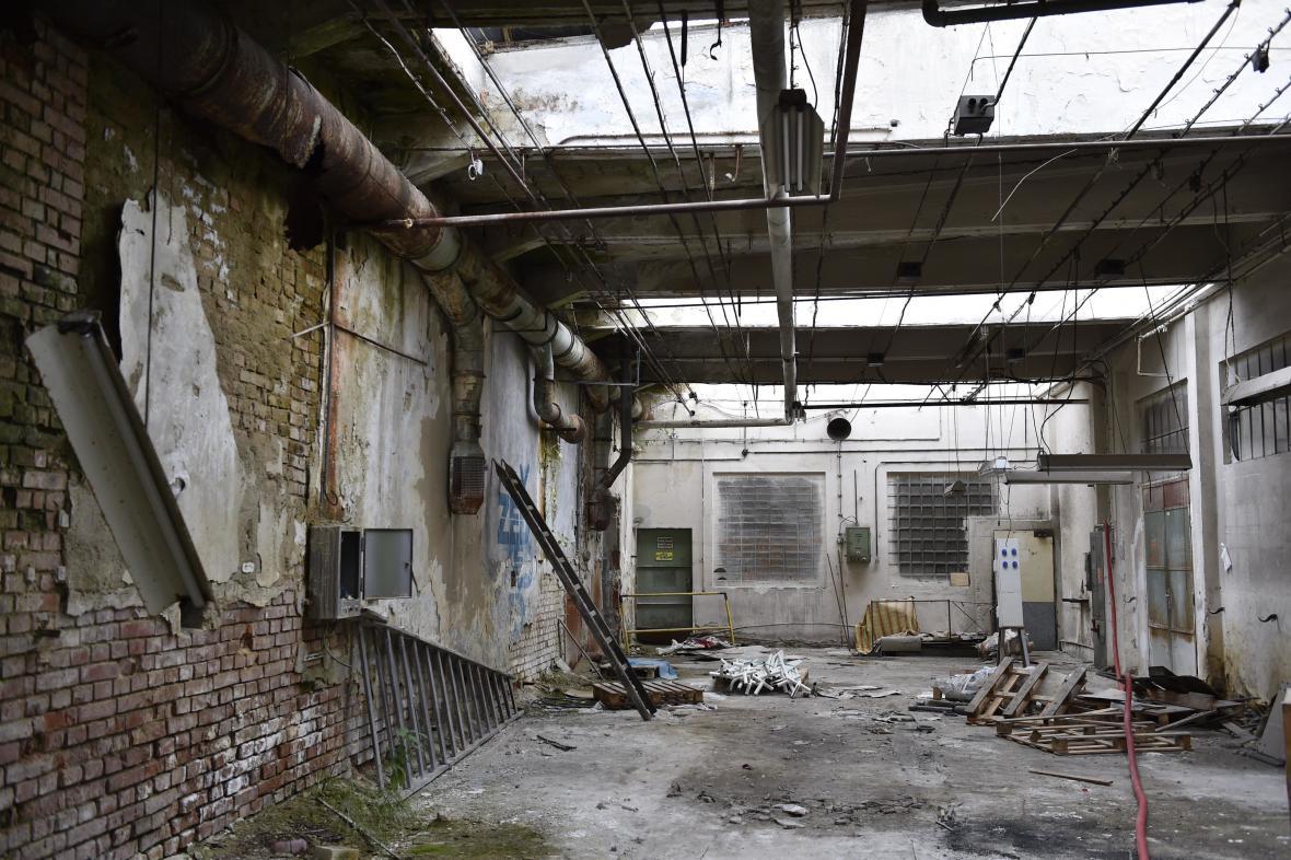 Areál továrny Zbrojovky
