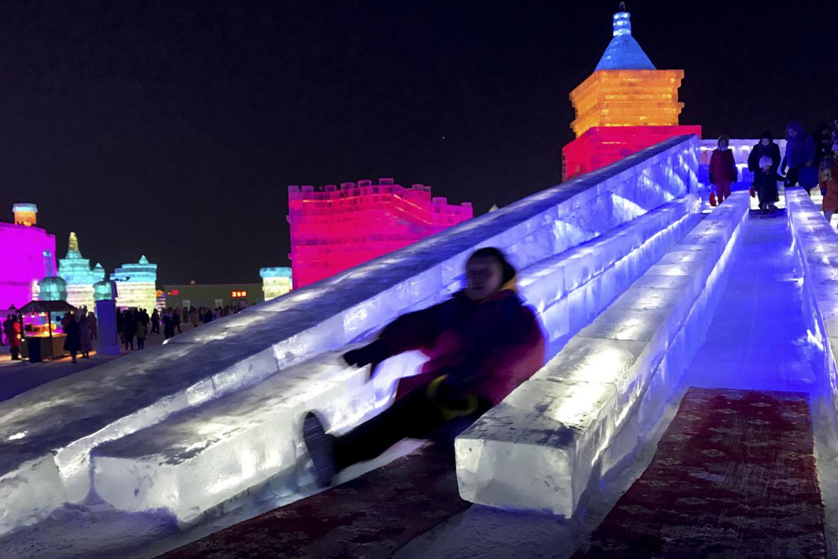 Čínský festival ledu 2017