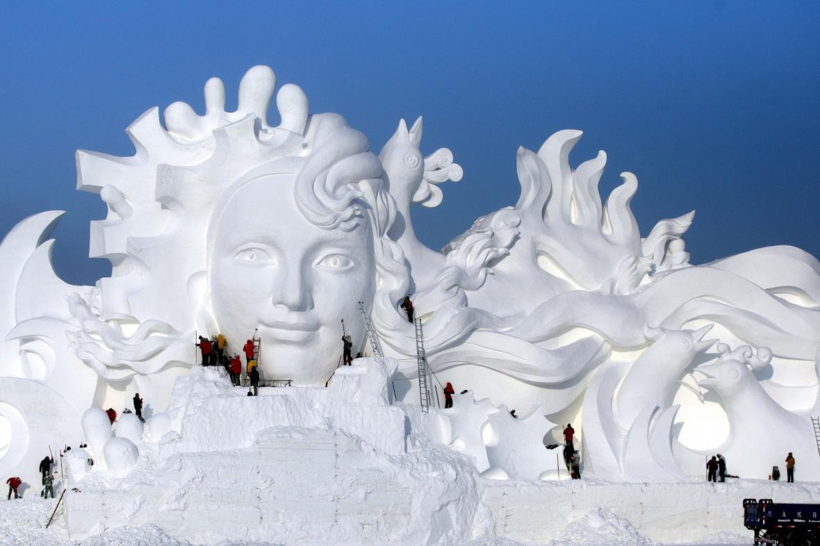Čínský festival ledu