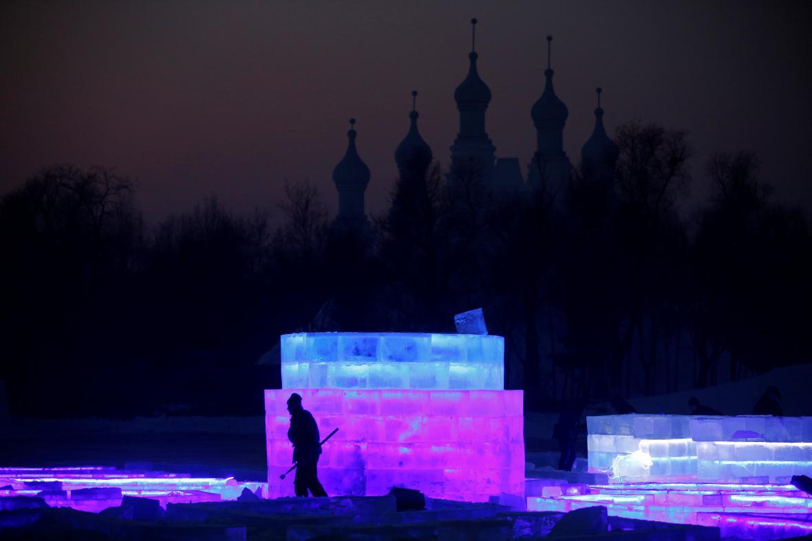 Festival ledu v Číně