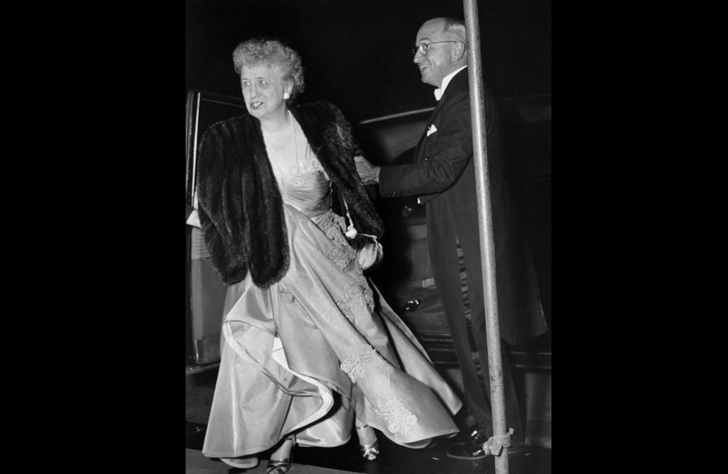 Harry Truman se svou manželkou Elizabeth