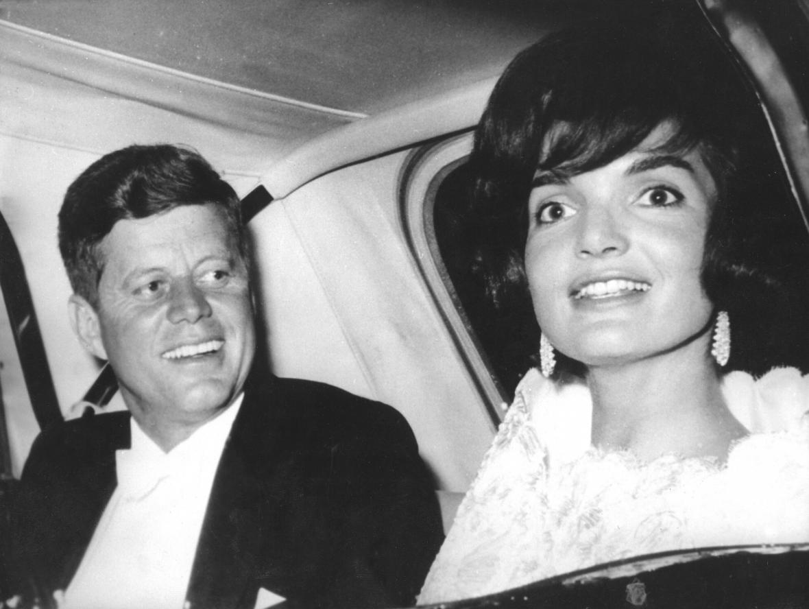 John F. Kennedy s manželkou Jackie